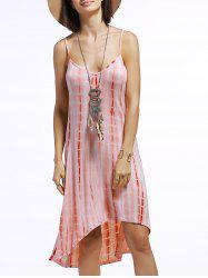 Spaghetti Strap Tie Dye Dress -