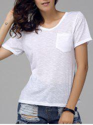 V-Neck Pocket T-Shirt