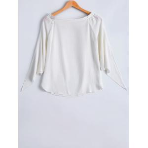 Fashionable Chiffon Off-The-Shoulder Blouse For Women -