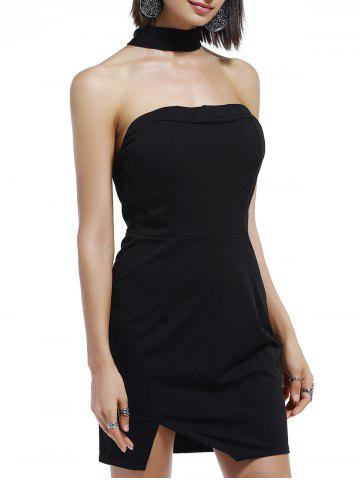 New Bandeau Chocker Tube Bodycon Night Out Dresses