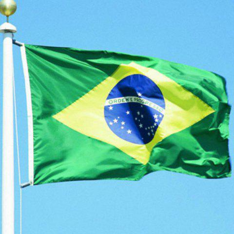 Latest 3x5ft Hot Sale Brazil National Flag