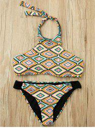 Halter Tribal Bikini Set