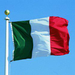 90*150cm Hot Sale Washable Italy Country Flag -