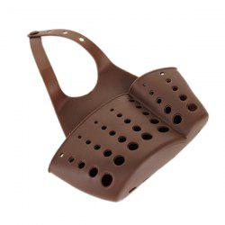 Hot Sale Kitchen Storage Tool Sink Hanging Sponge Leachate Basket - COFFEE