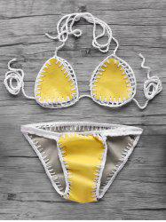 Flirty PU Women's Teeny Bikini Set