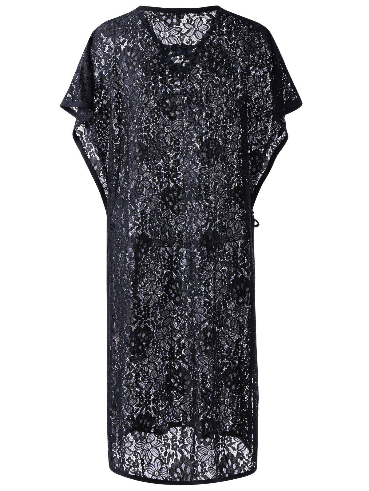 Lace See-Through Cover-Up Chic Femmes