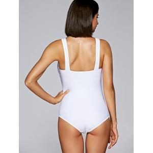 Ruched Slimming One Piece Swimwear -