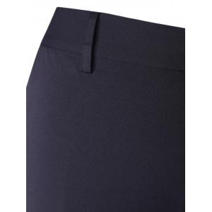 Skinny Bell Bottom Stretchy Trousers -