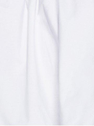Shop Charming Off The Shoulder Ruffled Women's Blouse - S WHITE Mobile