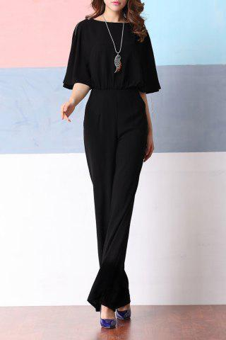 Outfit Elegant Dolman Sleeve Palazzo Jumpsuit