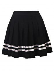Preppy Style High Waisted Pleated Women's Skirt