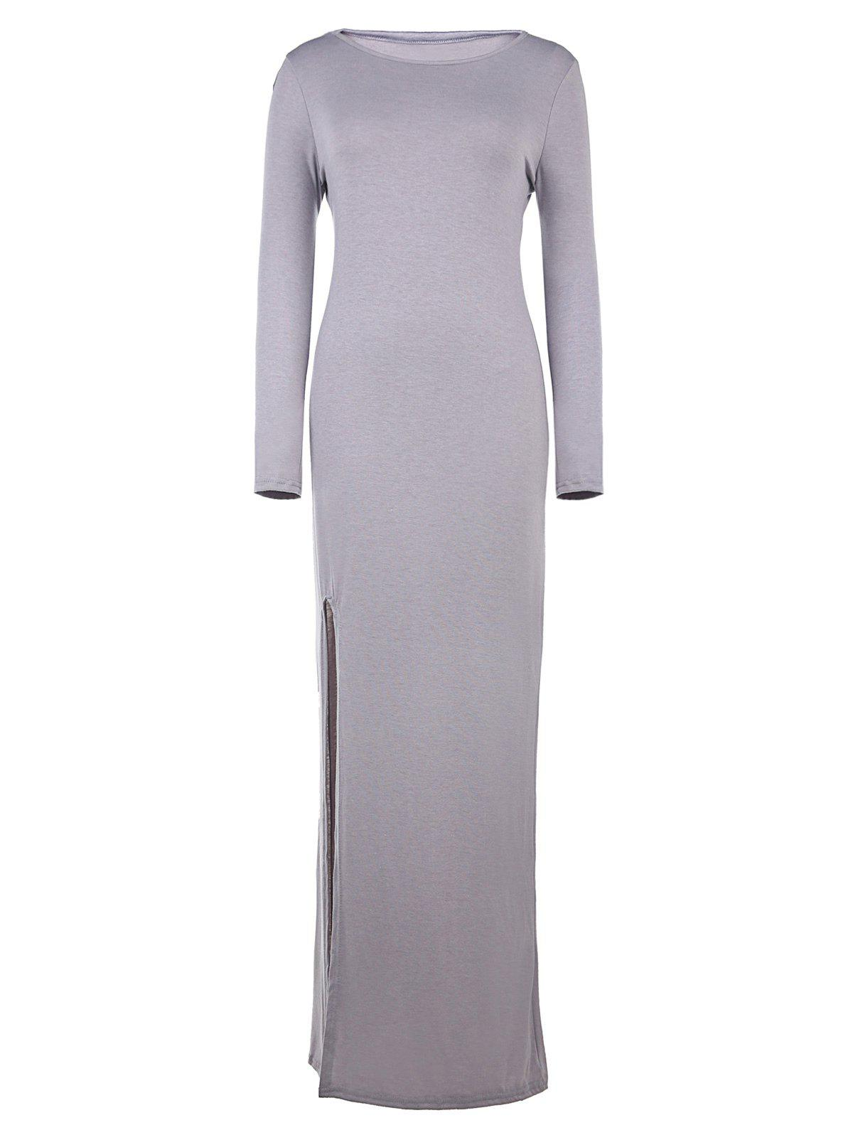 Long sleeve bodycon dress maxi and spencer north