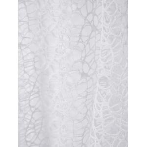 Lace Mermaid Fitted Maxi Formal Dress - WHITE M