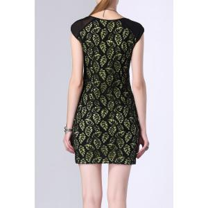 Lace Sheath Mini Dress -