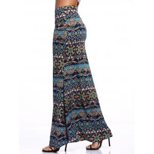 Stylish Women's Tribe Print Over Hip Skirt -