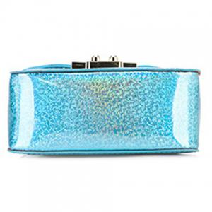 Cute Metal and Solid Color Design Crossbody Bag For Women -