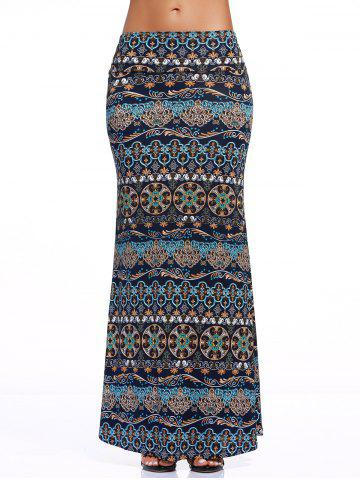 Best Stylish Women's Tribe Print Over Hip Skirt