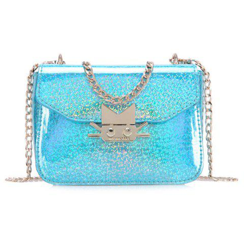 Discount Cute Metal and Solid Color Design Crossbody Bag For Women