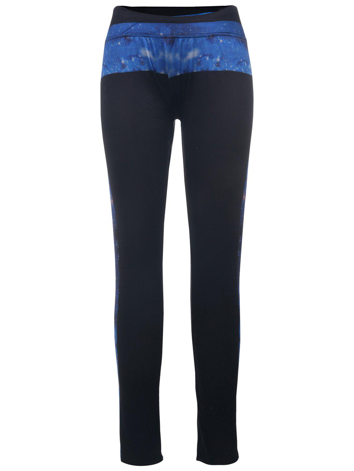 Fancy Stylish High-Waisted Printed Slimming Women's Yoga Pants