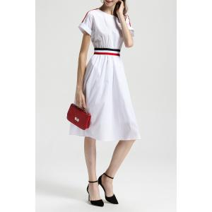 Cotton A Line Dress -