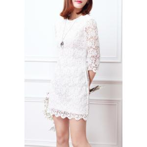 Sheath Lace Dress -