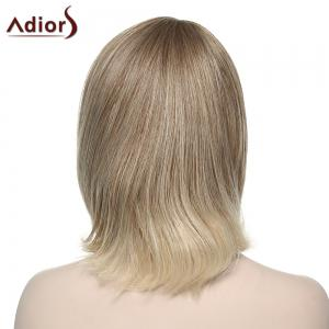 Fashion Adiors Straight Synthetic Wig For Women - COLORMIX