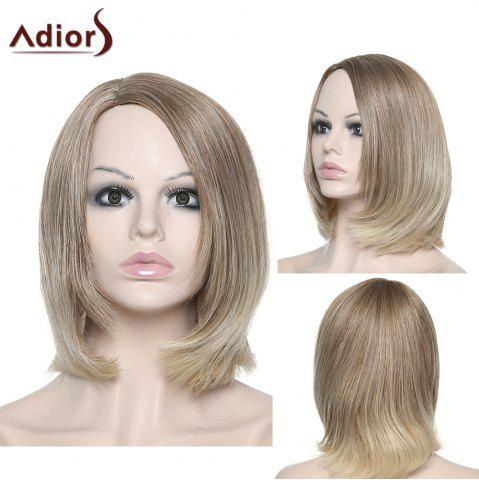 Cheap Fashion Adiors Straight Synthetic Wig For Women COLORMIX