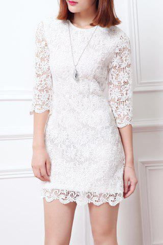 Store Sheath Lace Dress