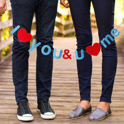 Set of Fashion Nonwoven Fabric Love Letter Symbol Garland For Valentine's Day -