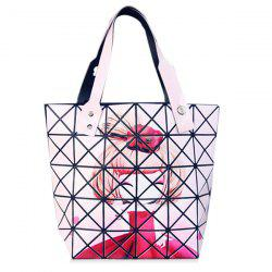 Fashion Print and Checked Design Tote Bag For Women -