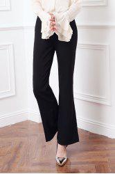 High Waisted Boot Cut Pants -