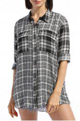 Double Pocket Checked Shirt -