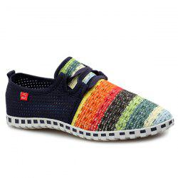 Trendy Breathable and Multicolor Design Casual Shoes For Men -