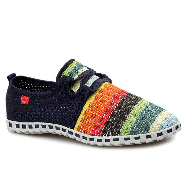 Outfits Trendy Breathable and Multicolor Design Casual Shoes For Men