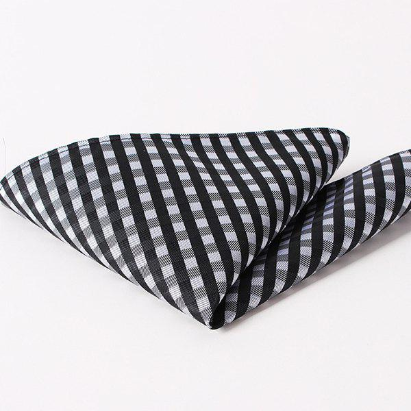 Chic Stylish Checkered Pattern Wedding or Party Business Suit Pocket Square For Men