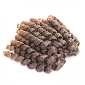 Exotic Mixed Color Curly Braid Synthetic Short Hair Extension - Colormix