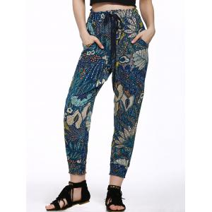 Printed Jogger Beach Pants