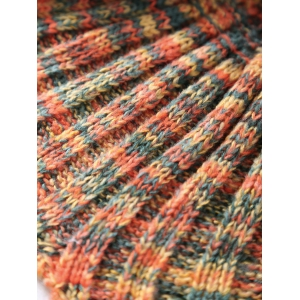 High Quality Mixed Color Knitted Mermaid Tail Design Blankets - SWEET ORANGE