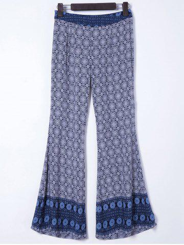 Fashion Chic Women's Ethnic Print Palazzo Pants