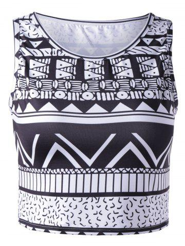 Latest Chic Women's Tribal Print Tank Top - XL COLORMIX Mobile