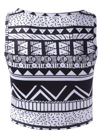 Affordable Chic Women's Tribal Print Tank Top - XL COLORMIX Mobile