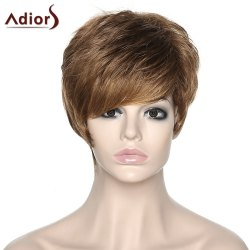 Shaggy Women's Adiors Side Bang Synthetic Boy Cut Wig