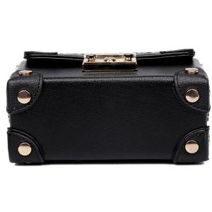 Sweet Hasp and Rivets Design Tote Bag For Women -