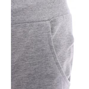 Women's Casual Drawstring Loose-Fitting Solid Color Pants -