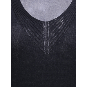 Simple Style Scoop Neck Women's Knitted Tank Top -
