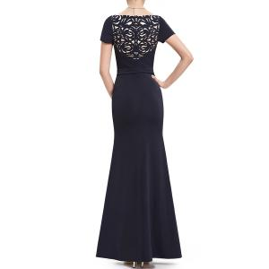 Sweetheart Neck Sequined Maxi Mermaid Evening Dress -
