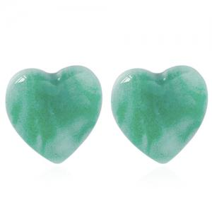 A Suit of Graceful Heart Shape Earrings For Women - COLORMIX