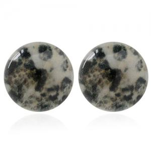 A Suit of Graceful Round Shape Earrings For Women - COLORMIX