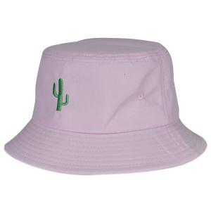 Simple Desert Cactus Embroidery Sunscreen Bucket Hat For Women -