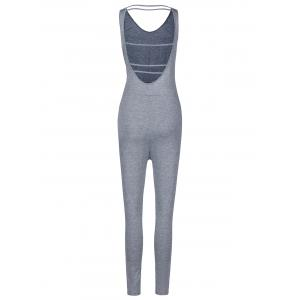 Women's Stylish Sleeveless Backless Jumpsuit -